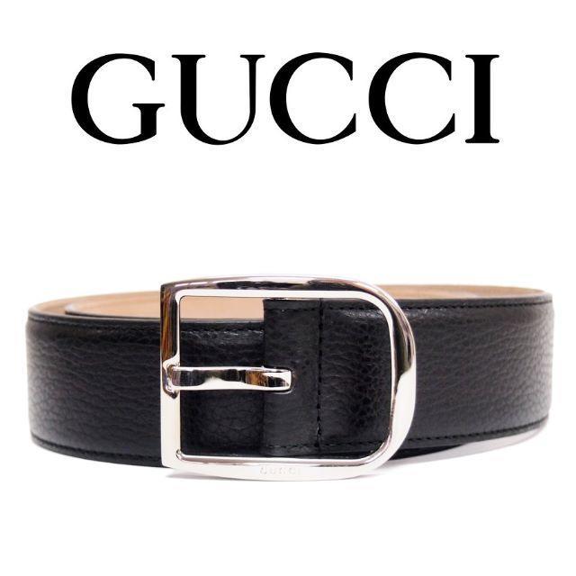 chanel 長財布 スーパーコピー / Gucci - 【26】GUCCI ブラック レザー ベルト size 85/34の通販 by NEO 's shop