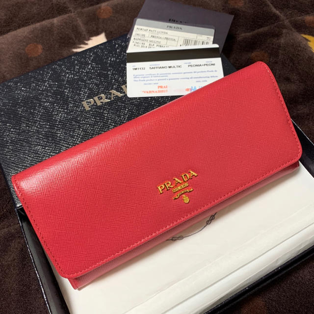 ブライトリング偽物新品 - PRADA - 《美品》 PRADA 長財布 ピンクの通販 by my.s shop