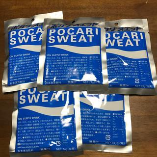 オオツカセイヤク(大塚製薬)のポカリスエット(1リットル用粉末×5袋)(ソフトドリンク)