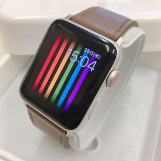 アップルウォッチ(Apple Watch)のApple Watch series3 Cellularモデル アップルウォッチ(腕時計(デジタル))