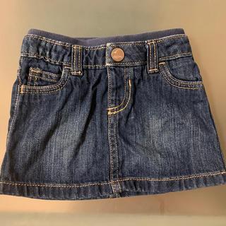 オールドネイビー(Old Navy)のOLDNAVY デニムスカート 70サイズ(スカート)