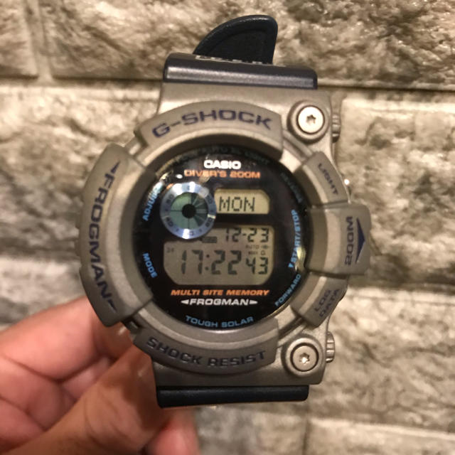 スーパーコピー 時計 セイコー中古 | G-SHOCK - G-SHOCK GW-200k FROGMAN フロッグマン タフソーラーの通販 by kinpatu king