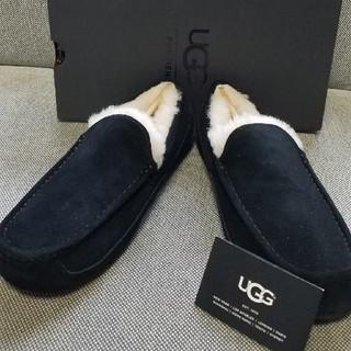 UGG - 新品未使用 UGG アスコット □メンズ モカシン ブラック