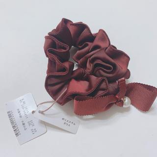 クチュールブローチ(Couture Brooch)のクチュールブローチ シュシュ リボン パール (ヘアゴム/シュシュ)