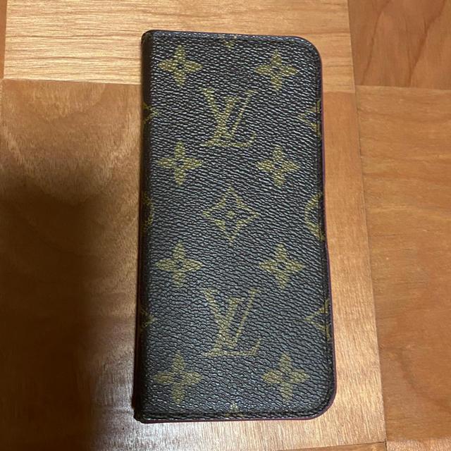 LOUIS VUITTON - LOUIS VUITTON ★ フォリオモノグラム ローズ iPhoneX.XSの通販