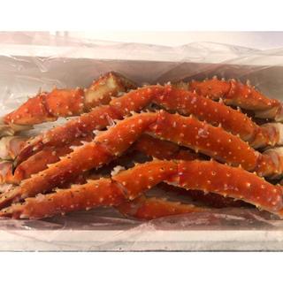 残りわずか!北海道産タラバ蟹 1.5k 送料無料(魚介)
