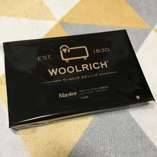 ウールリッチ(WOOLRICH)のモノマスター 付録(ボディーバッグ)