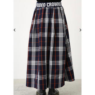 ロデオクラウンズワイドボウル(RODEO CROWNS WIDE BOWL)のRCW リブ ロングスカート(ロングスカート)
