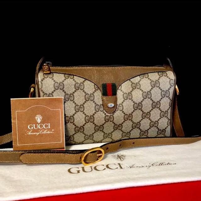ベルト ウエストマーク - Gucci - ☆ 美品 グッチ オールドグッチ シェリーライン ミニ ショルダーバッグの通販 by マチルダ's shop