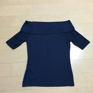 ジーユー(GU)のオフショル トップス(Tシャツ(長袖/七分))