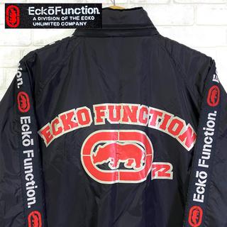 【Ecko Function.】エコー ナイロンジャケット ビッグロゴ /M