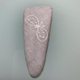 ミナペルホネン(mina perhonen)のミナペルホネンハンドメイドパッチンピン(ヘアピン)