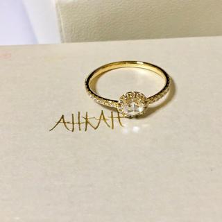 アーカー(AHKAH)のAHKAH ヴィヴィアンローズリング アーカー(リング(指輪))