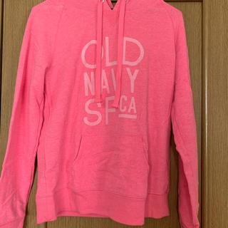オールドネイビー(Old Navy)のオールドネイビー oldnavy パーカー ピンク S レディース(パーカー)
