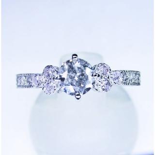 天然ダイヤモンド計0.48ctデザインリング(指輪)(リング(指輪))