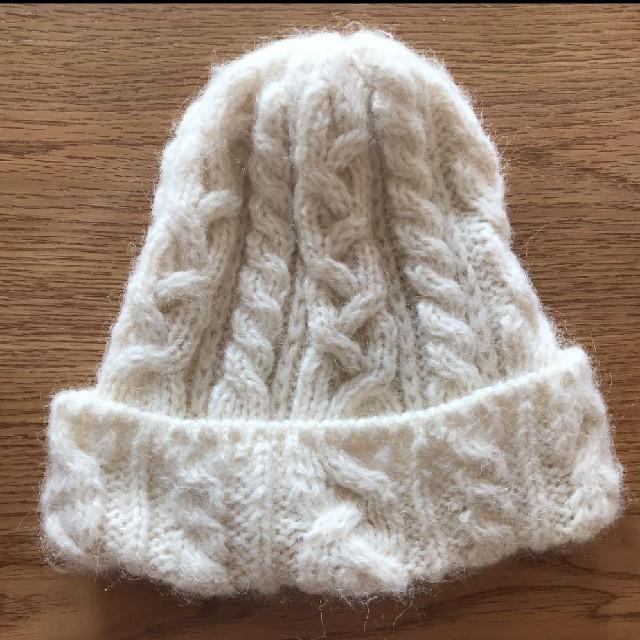 JOURNAL STANDARD(ジャーナルスタンダード)のハイランド2000 ニット帽 ホワイト 白 レディースの帽子(ニット帽/ビーニー)の商品写真
