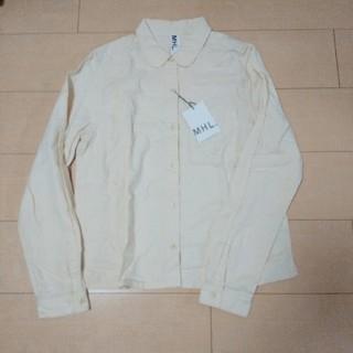 マーガレットハウエル(MARGARET HOWELL)のMAGARET HOWELL コットンシャツ(シャツ/ブラウス(長袖/七分))