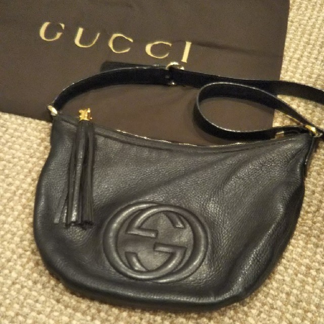 louis vuitton 財布 スーパーコピー | Gucci - 確実正規品 ☆ GUCCI グッチ ソーホー トート フリンジショルダーバッグの通販 by mmmshop