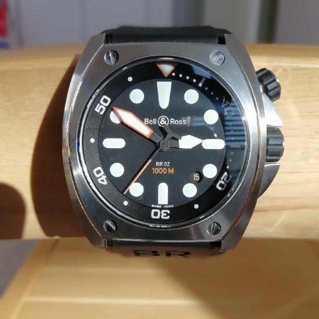スーパーコピー ドルガバ 腕時計 - Bell & Ross - Bell&Rossベルアンドロス BR02-92 ダイバーウォッチ自動巻きの通販 by Casey's shop