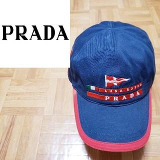 PRADA - プラダ ルナロッサ キャップ デカロゴ イタリア TIM プラダスポーツ