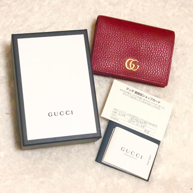 louis vuitton 財布 偽物の見分け方 - Gucci - GUCCI レザーミニウォレットの通販 by street☆