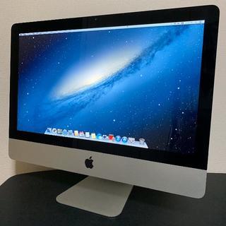 アップル(Apple)のイラストレーター&フォトショップCS5/6可!! iMac 2011 21.5(デスクトップ型PC)