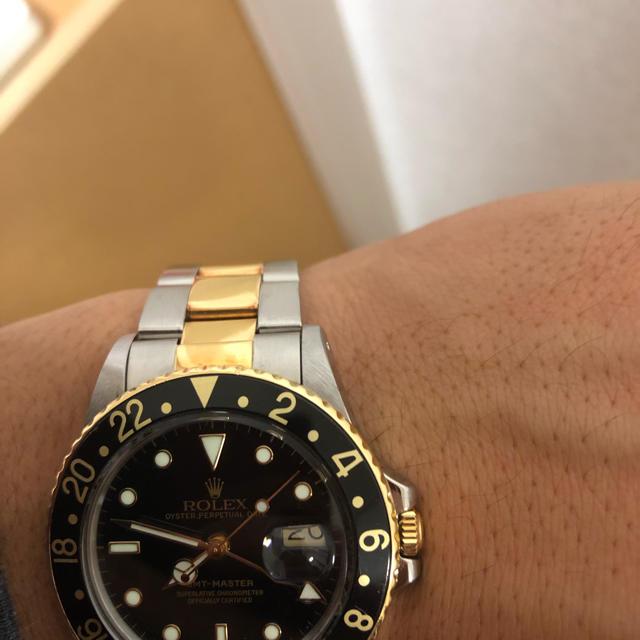 スーパーコピー 時計 ブログ ol | ROLEX - ロレックス gmtマスター 16753の通販 by hanapapa's shop