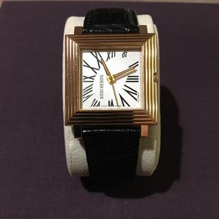 ブシュロン(BOUCHERON)のブシュロン  金無垢 キャレ オートマティック(腕時計(アナログ))