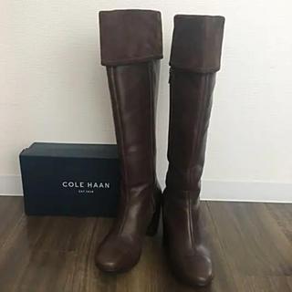 コールハーン(Cole Haan)のCole Haan コールハーン ロングブーツ こげ茶(ブーツ)