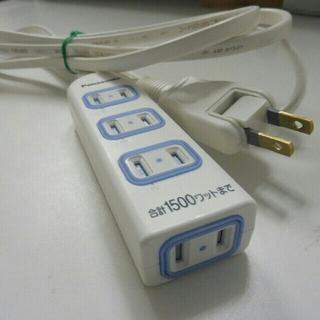パナソニック(Panasonic)のPanasonic 延長コード 2m4口(変圧器/アダプター)