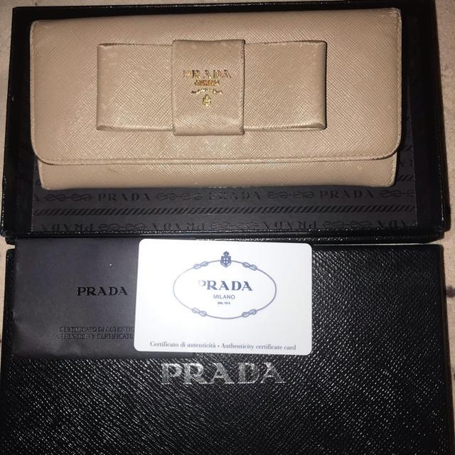 ミスパシャ カルティエ / PRADA - PRADAプラダ リボン 長財布の通販 by あまさん's shop
