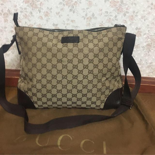 Gucci - GUCCI ショルダーbag保存袋付きの通販 by イイネ放置❌お気軽にコメント下さい