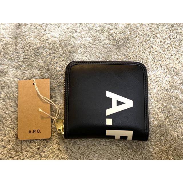 coach 財布 スーパーコピー時計 | A.P.C - 新� a.p.c ロゴコンパクトウォレット 二�折り財布 ミニウォレット�通販 by MANA123's shop