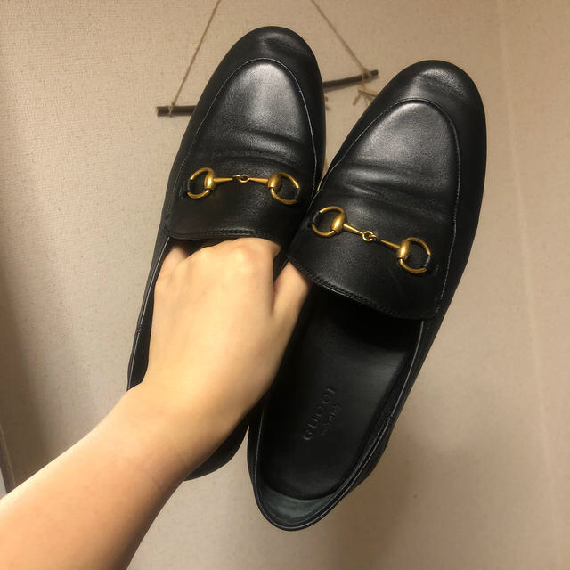 gucci ピアス loved - Gucci - GUCCIローファー�通販 by na's shop