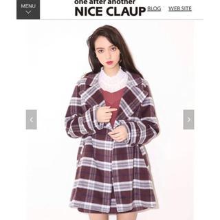 NICE CLAUP - ナイスクラップ チェックコート