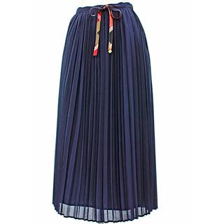 バーバリーブルーレーベル(BURBERRY BLUE LABEL)のBURBERRY BLUE LABEL プリーツロングスカート(ロングスカート)