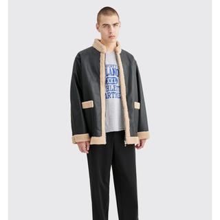 ニードルス(Needles)のニードルス needles Zipped Tibetan Jacket(レザージャケット)