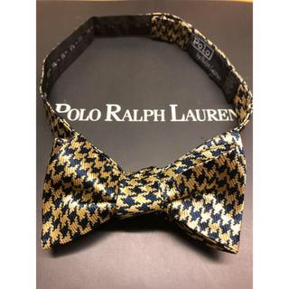 POLO RALPH LAUREN - POLO/ラルフローレン USA製 ゴールド✖️ネイビー 未使用品 最上級美品