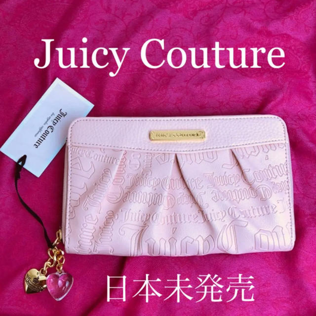 Juicy Couture - 日本未入� 新作財布 ピンク♡�ャーム付� ジューシーク�ュール 正���通販 by familysmile shop★�値下��能★�購入OK