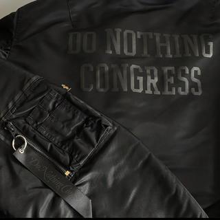 フラグメント(FRAGMENT)のDo Nothing Congress MA-1 ブラック XL(フライトジャケット)