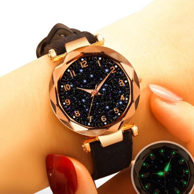 アクノアウテッィク コピー 優良店 / 腕時計 レディース 腕時計 星空 蓄光 パープル メンズ腕時計 クォーツの通販 by タクトモ's shop