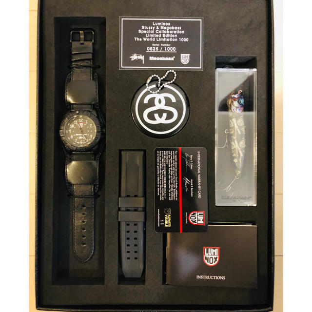 スーパーコピー 時計指輪 、 Luminox - Stussy/Megabass/LUMINOX Limited Watchの通販 by ハロ's shop