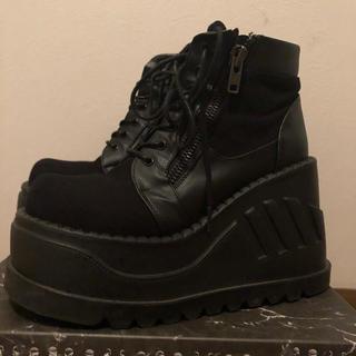 ヨースケ(YOSUKE)のデモニア 厚底ブーツ 26~27cm(ブーツ)