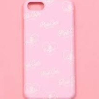 ウィゴー(WEGO)の新品未使用!WEGO モバイルケースカバー iPhone7 CHUU ピンク♪(iPhoneケース)