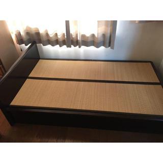 セミダブル ベッド 畳ベッド ● 大容量収納つき!(セミシングルベッド)