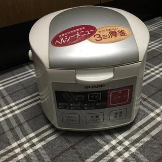 SHARP - SHARP 炊飯器 三合