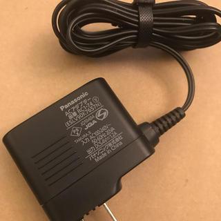 パナソニック(Panasonic)のPanasonic 充電アダプター ESLV90K7657N(変圧器/アダプター)