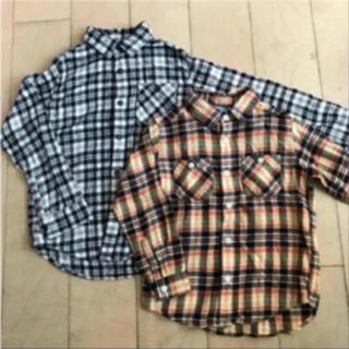 UNIQLO - チェックシャツ 2枚セット