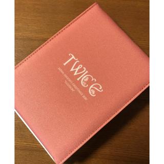 ウェストトゥワイス(Waste(twice))の【新品】TWICE シーグリ ミラー PINK ピンク(アイドルグッズ)