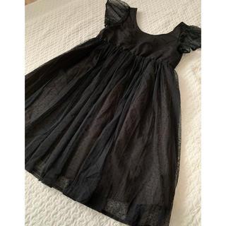 ナノユニバース(nano・universe)のナノユニバース ブラックドレス(ミディアムドレス)